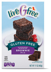 liveGfree Gluten Free Brownie or Baking Mix