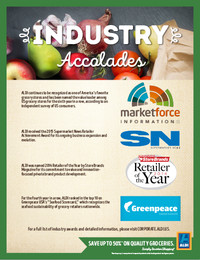ALDI Industry Accolades