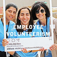 Employee Volunteerism. Click to learn more.