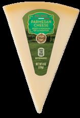 Priano Italian Cheese Wedges, Asiago & Parmesan