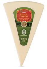Priano Italian Cheese Wedges, Asiago & Parmesan