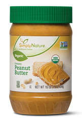 Simply Nature Organic Creamy Peanut Butter
