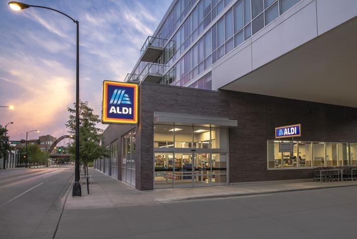 ALDI Store Exterior, Chicago