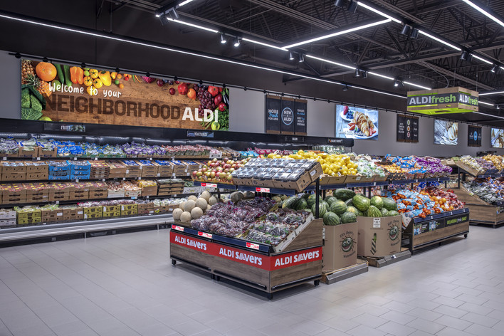 ALDI Produce Section