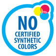 No Certified Synthetic Colors.