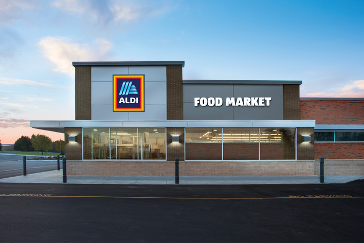 ALDI Store Exterior, Right