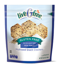 liveGfree Gluten Free Multiseed Crackers