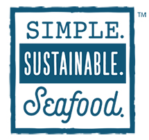 Simple. Sustainable. Seafood. logo