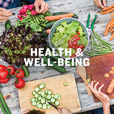 Health & well-being. Learn more.