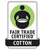Fair Trade Certified Cotton logo