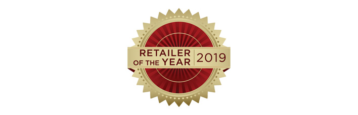 2019 Retailer of the Year Badge
