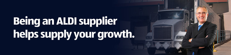 Being an ALDI Supplier helps supply your growth.
